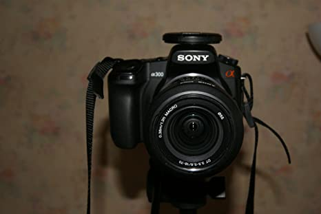 Sony Alpha 300 – Cámara réflex Digital (10 Mpx): Amazon.es ...