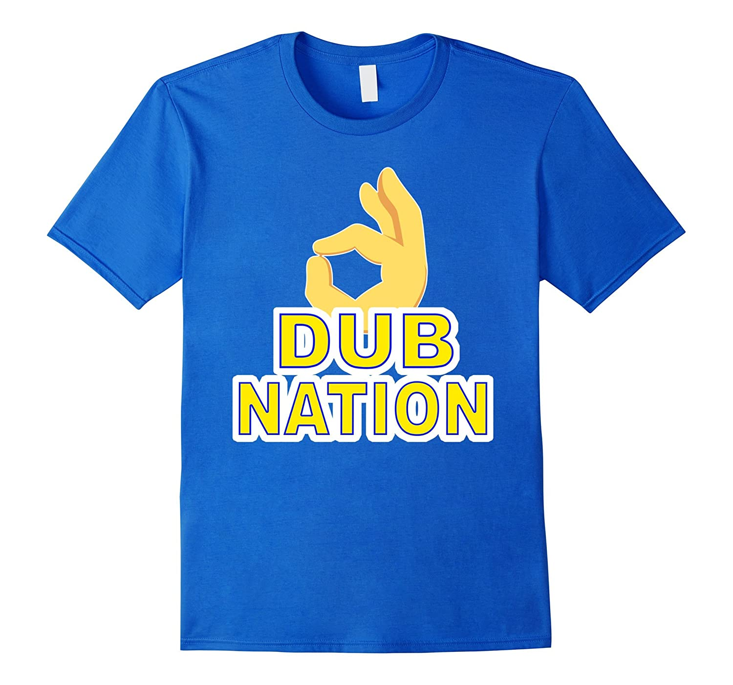 DUB NATION THROW YOUR 3S UP T SHIRT-FL