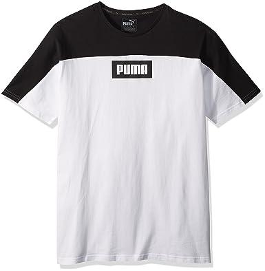 0487f5ecd0a0 Amazon.com  PUMA Men s Rebel Block T-Shirt  Clothing