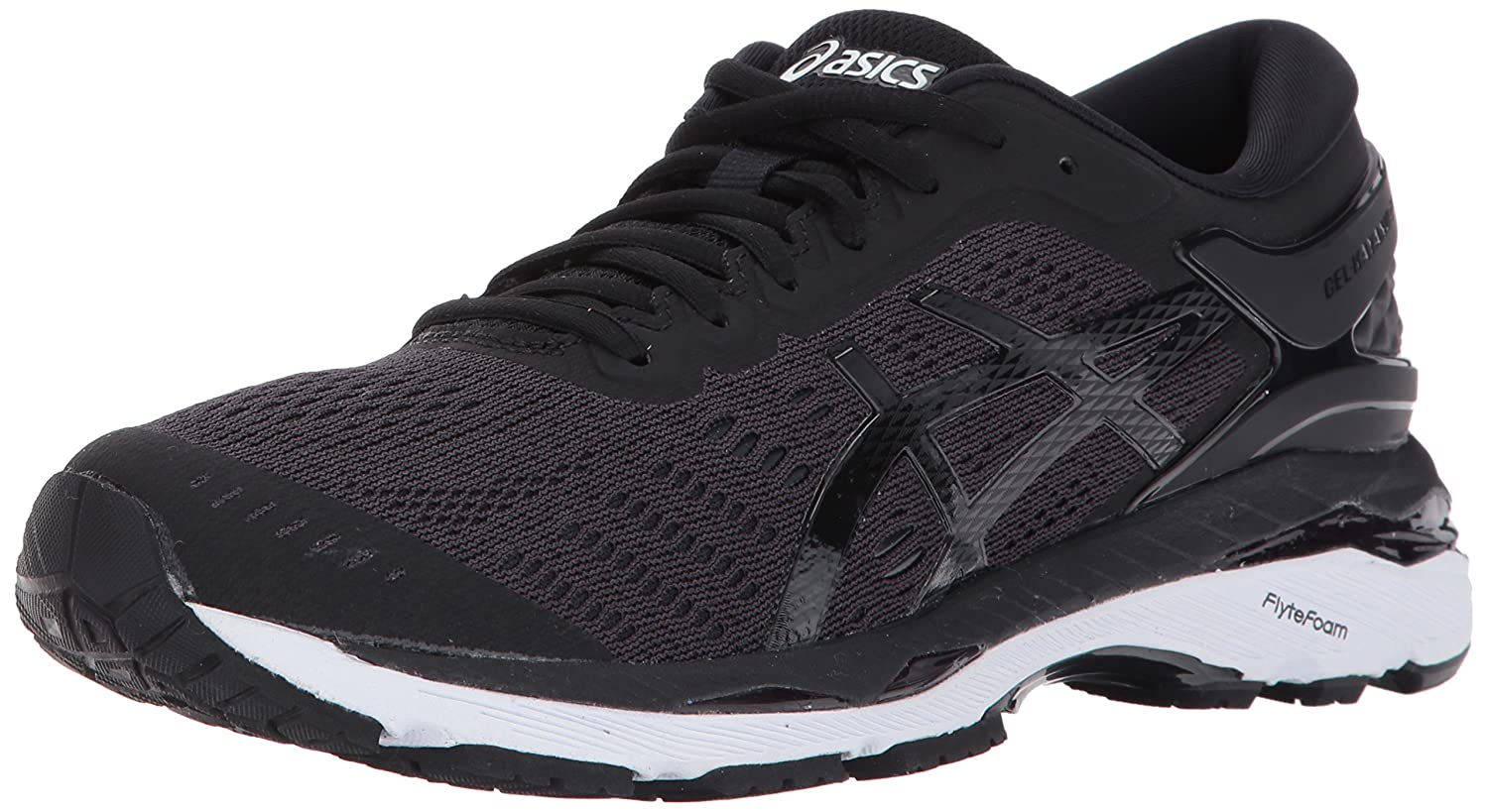 ASICS Women's Gel-Kayano 24 Running Shoe B01MTKJTEB 7.5 B(M) US|Black/Phantom/White