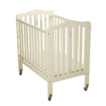 Beau Big Oshi Angela 3 Position Portable Adjustable Crib Foldable U0026 Space Saving  Baby Crib   French