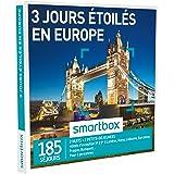Smartbox - Coffret Cadeau - 3 Jours toils en Europe - 185 Sjours : Htels DException 3* 5* Londres, Rome, Lisbonne, Barcelone, Prague, Budapest