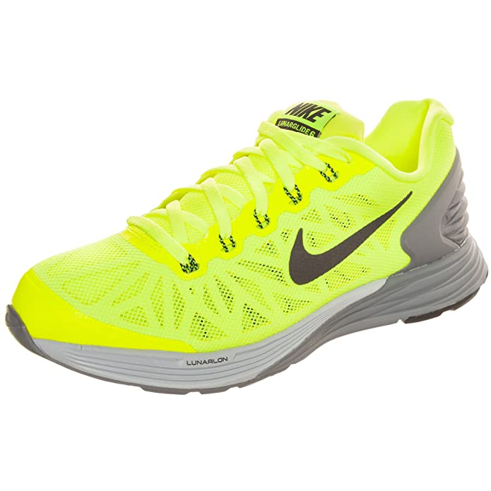 timeless design 0f81d e6c9e Nike Womens Lunarglide 6 Yellow Trainers 654155 700 UK 5 EUR 38 US 5.5Y   Amazon.co.uk  Shoes   Bags