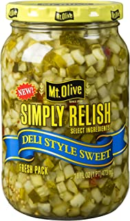 product image for Mt. Olive Simply Relish Deli Style Sweet 16 oz (Pack of 3)