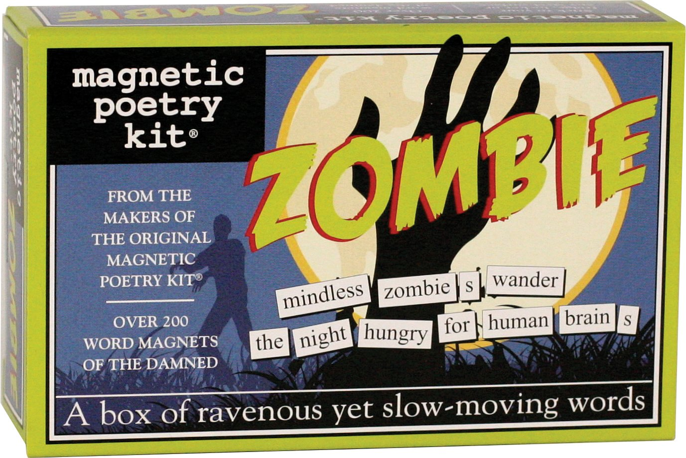 Amazon Magnetic Poetry Zombie Kit Words For Refrigerator