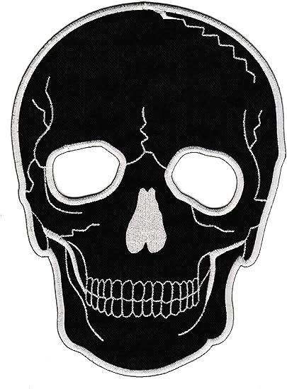 Calavera Negro Tattoo Back Patch Wolfszeit – Parche para espalda ...