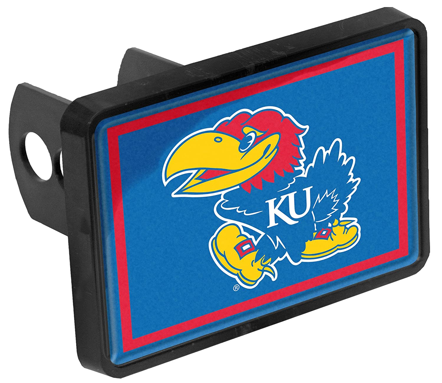 Kansas Jayhawks Trailer Hitch Receiver Cover
