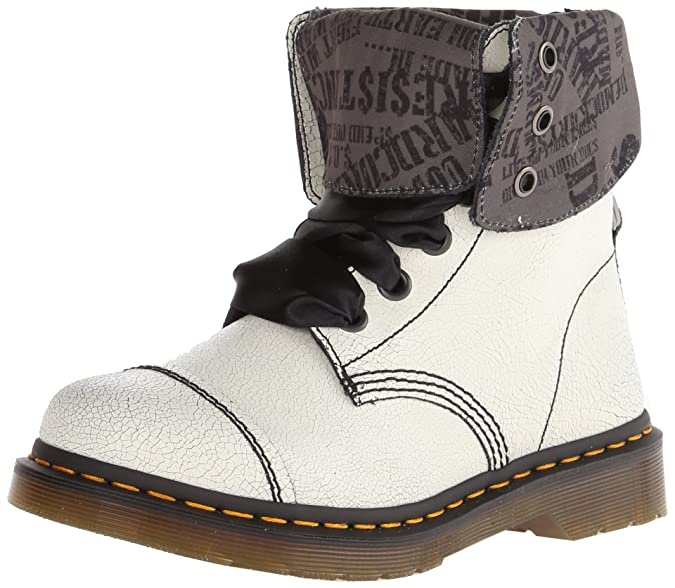 Dr. Martens Aimilita Darkened Mirage Brown - Zapatillas de Barco ...