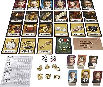 Cluedo Downton Abbey Edition - Juego de Mesa [en Idioma inglés]: Amazon.es: Juguetes y juegos