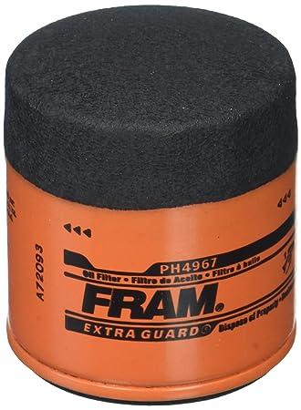 Amazon.com: Fram ph4967 Filtro de aceite: Automotive