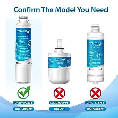 Replacement for Samsung DA29-00020B HAF-CINEXP Refrigerator Water Filter 6pk