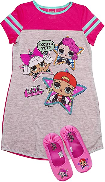Girls LOL Surprise Dolls Pyjamas L.O.L Pink 7-8 Years