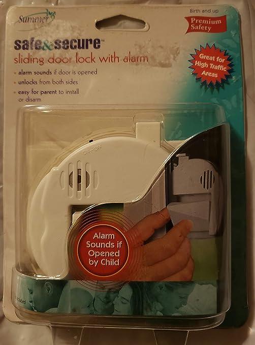 Seguro para niños de verano y seguro puerta corredera con alarma: Amazon.es: Bebé