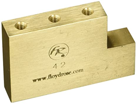 Floyd Rose Fat Brass L Shaped Tremolo Block - 42mm