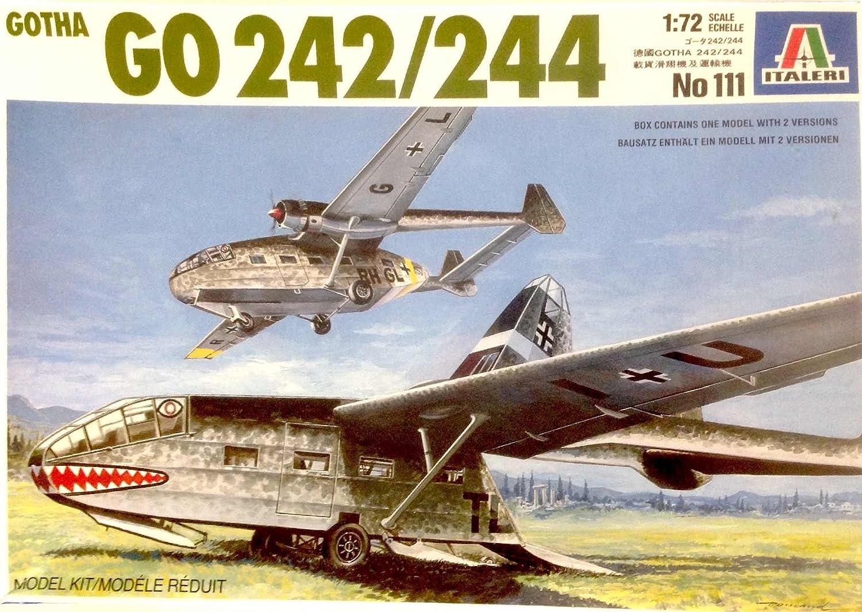 Italeri 1//72 Gotha GO Cargo Glider 242//244 LTD Edition Model Kit 111