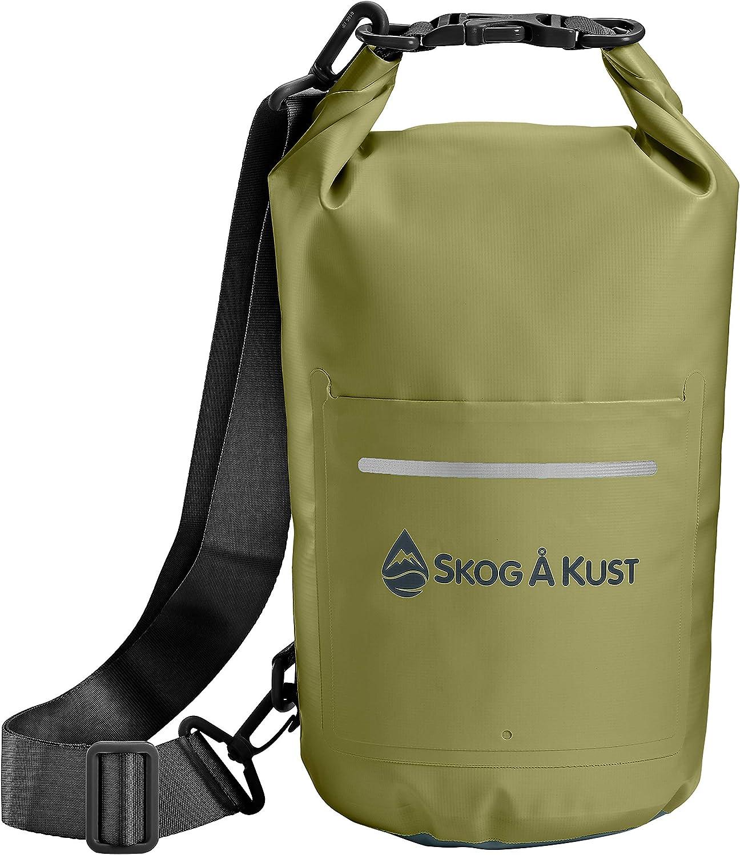 Details about  /5 pcs Set Waterproof Dry Bag Sack Storage Pouch Camping Kayaking Green