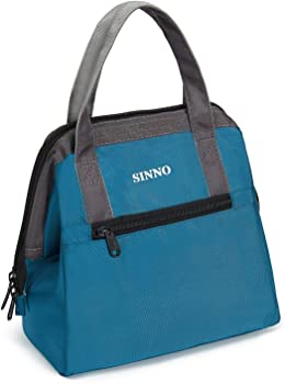 Sinno Insulated Lunch Box with Pockets