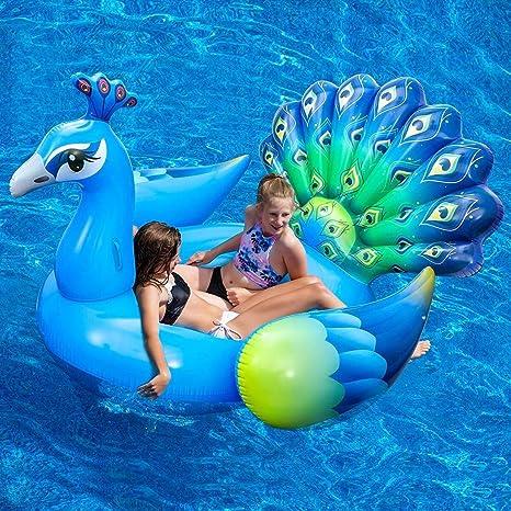 Cupwing - Colchón Hinchable Gigante Flotante para Piscina y ...