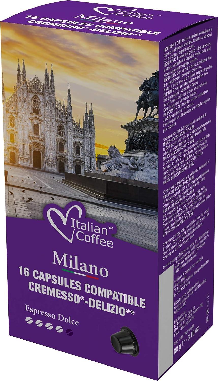 Cápsulas Cremesso® Delizio® Compatibles Café Classico 96 Cápsulas ...