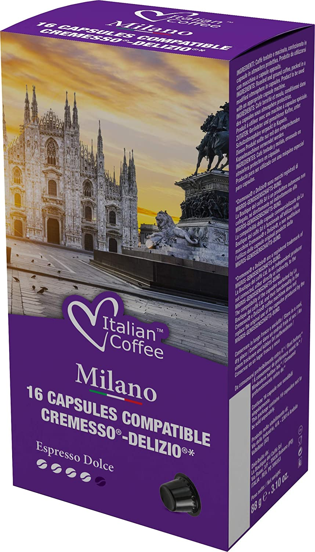 Cápsulas Cremesso® Delizio® Compatibles Degustación 96 Cápsulas ...