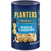 Deals on Planters Deluxe Whole Cashew Nuts, 1 LB 2.25 OZ