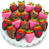 Golden State Fruit 18 Piece Love Bites Chocolate Covered Strawberries