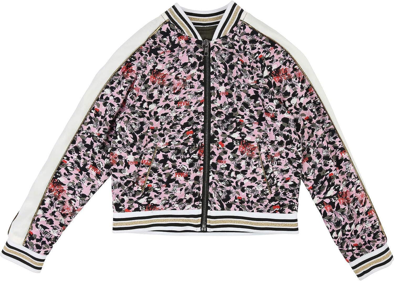 Zadig /& Voltaire Girls reversible bomber jacket.