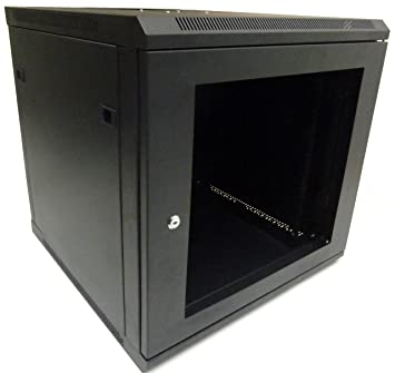 Delicieux 12U 600mm Black Wall Cabinet Network Data Rack For Patch Panel, PDU U0026 LAN  Server