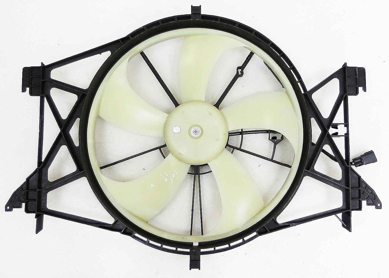 Depo 334-55028-100 Radiator Fan Assembly (DODGE RM 1500 4.7L 09-13/5.7L 09-14/2500 5.0L 10-12/5.7L 13-14/6.4L 14/3500 5.7L 13-14 (MODULE COOLING))