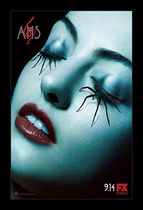 Amazoncom American Horror Story 11x17 Framed Tv Movie Poster By