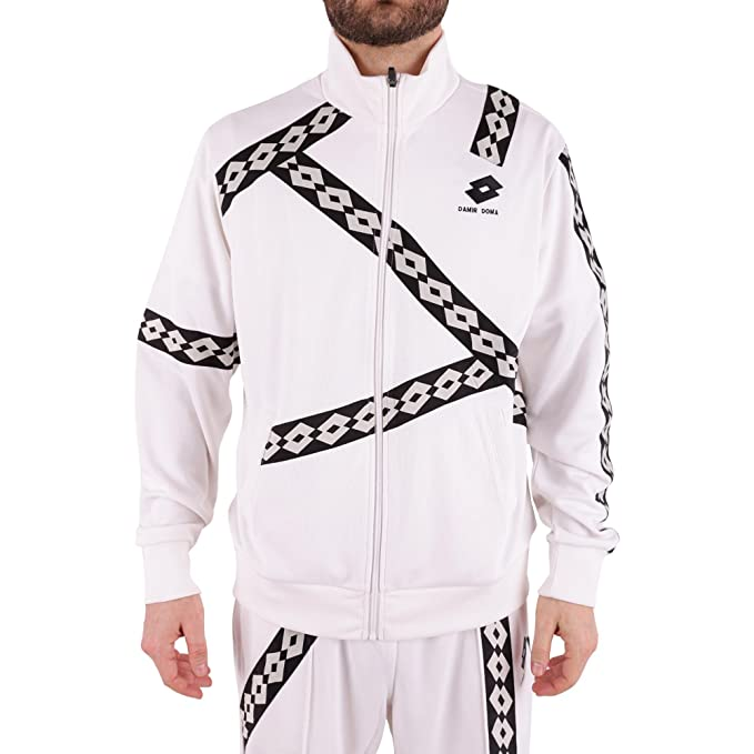 DAMIR DOMA X LOTTO - Sudadera - para hombre Weiß Marke Talla M: Amazon.es: Ropa y accesorios
