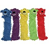 Multipet's 18-Inch Floppy Loofa Light Weight No Stuffing Dog Toys, Assorted Colors