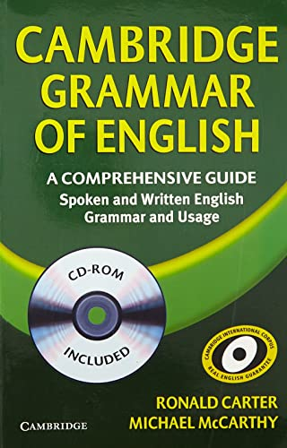 Cambridge Grammar Of English A Comprehensive Guide W/Cd