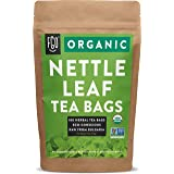 Organic Nettle Leaf Tea Bags | 100 Tea Bags | Eco-Conscious Tea Bags in Kraft Bag | Raw from Bulgaria | by FGO