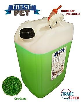 25L fresco para perro de mascota de la perrera desinfectante, limpiador, ambientador: Amazon.es: Productos para mascotas