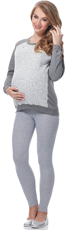 Be Mammy Womens Maternity Sweatshirt with Nursing Function BE20-156