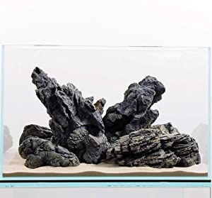 CURRENT USA Seiryu Stone Collection 7-11 Pieces | Molded Aquarium Decor for up to 48