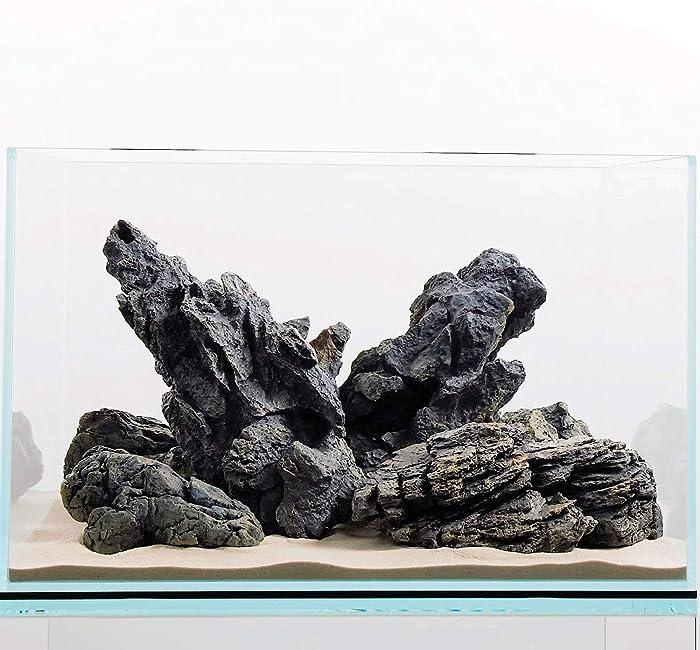 The Best Aquarium Resin Rock Decor Large