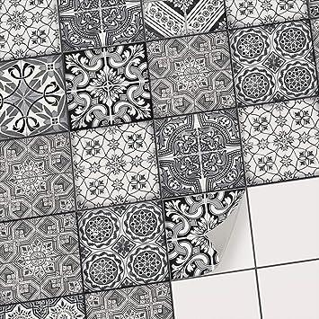 autocollant carrelage vinyle adhsif sticker pour carreaux salle de bain et crdence cuisinerevtement
