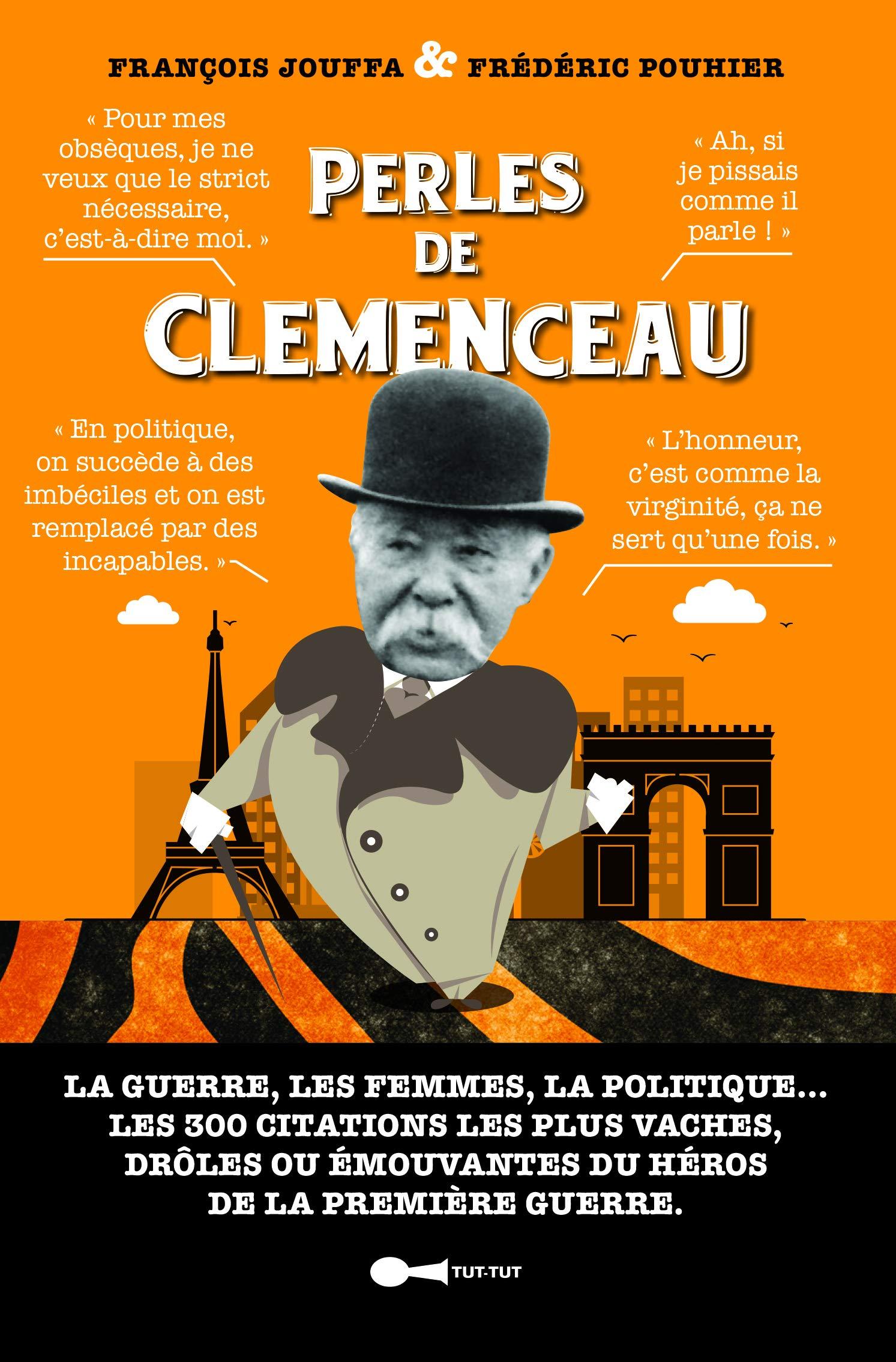 Perles De Clemenceau Frederic Pouhier 9782367042442 Amazon Com