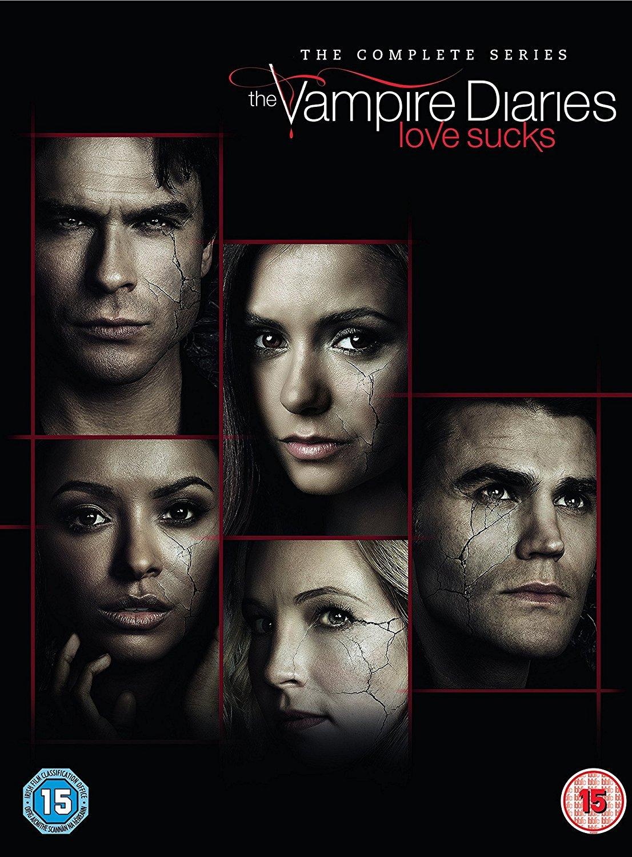 Vampire Diaries S1-8 [Edizione: Regno Unito] [Reino Unido] [DVD]
