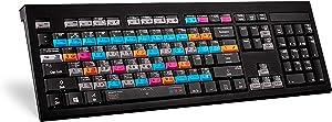LogicKeyboard Adobe Graphic Designer ASTRA Backlit US English Keyboard for Windows 7-10