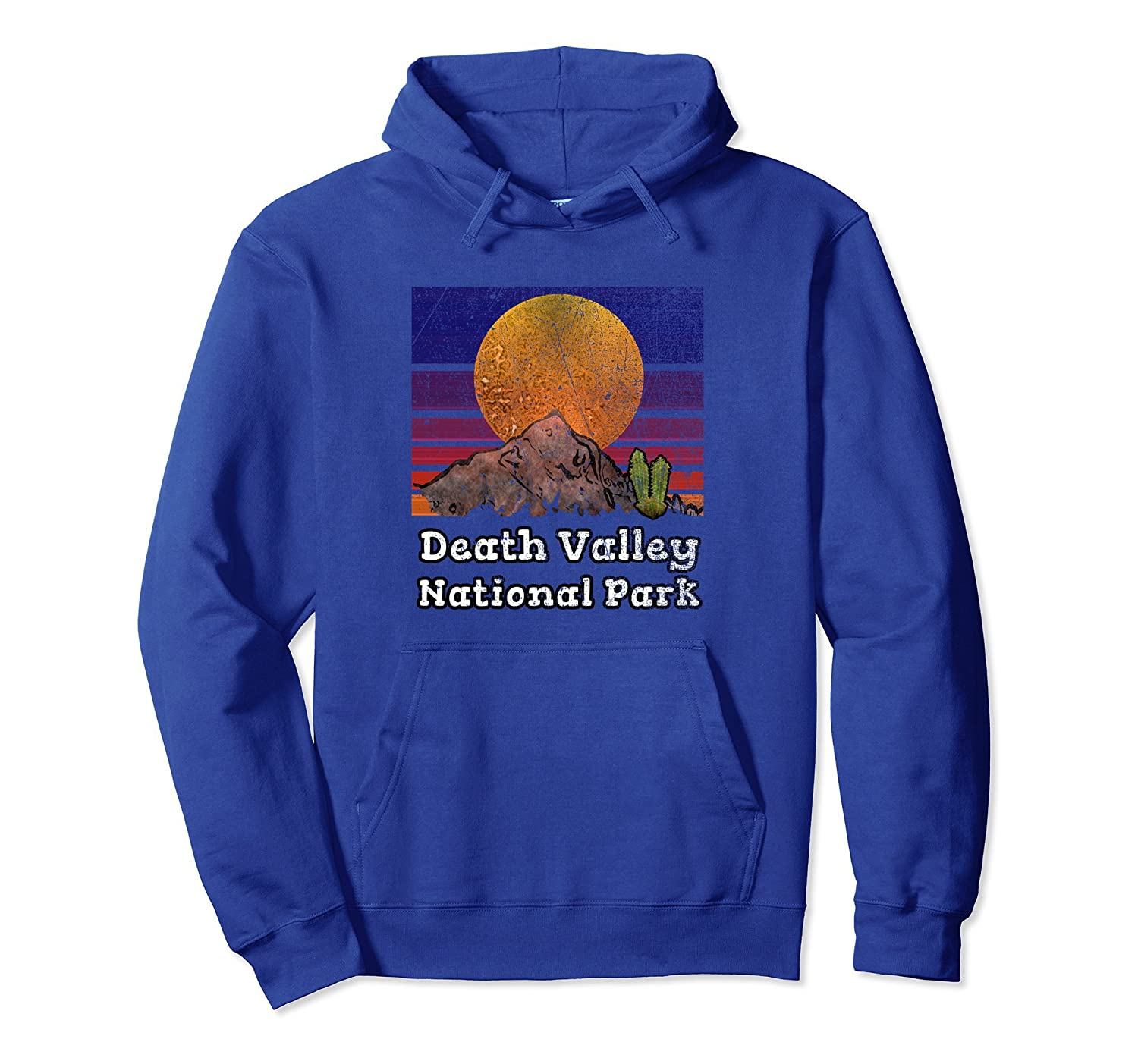Death Valley National Park Hoodie with Desert Sunset Scenery-ah my shirt one gift