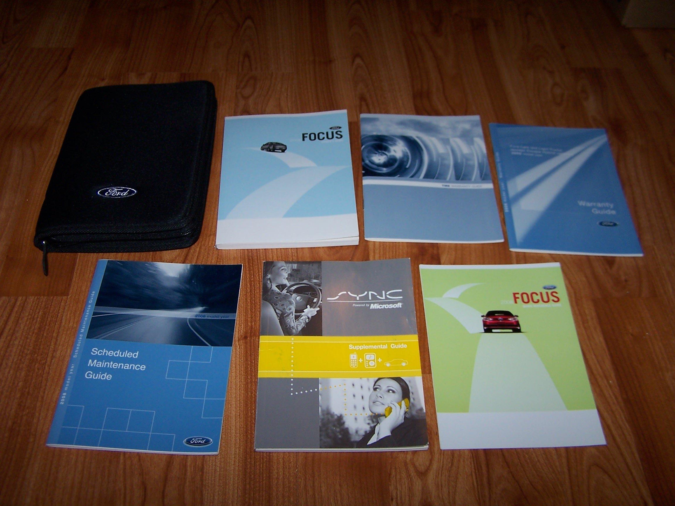 ford focus 2008 sync manual