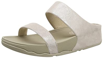 f71c414c0ccd Fitflop Women s Lulu Shimmersuede Slide Sandals  Amazon.co.uk  Shoes ...