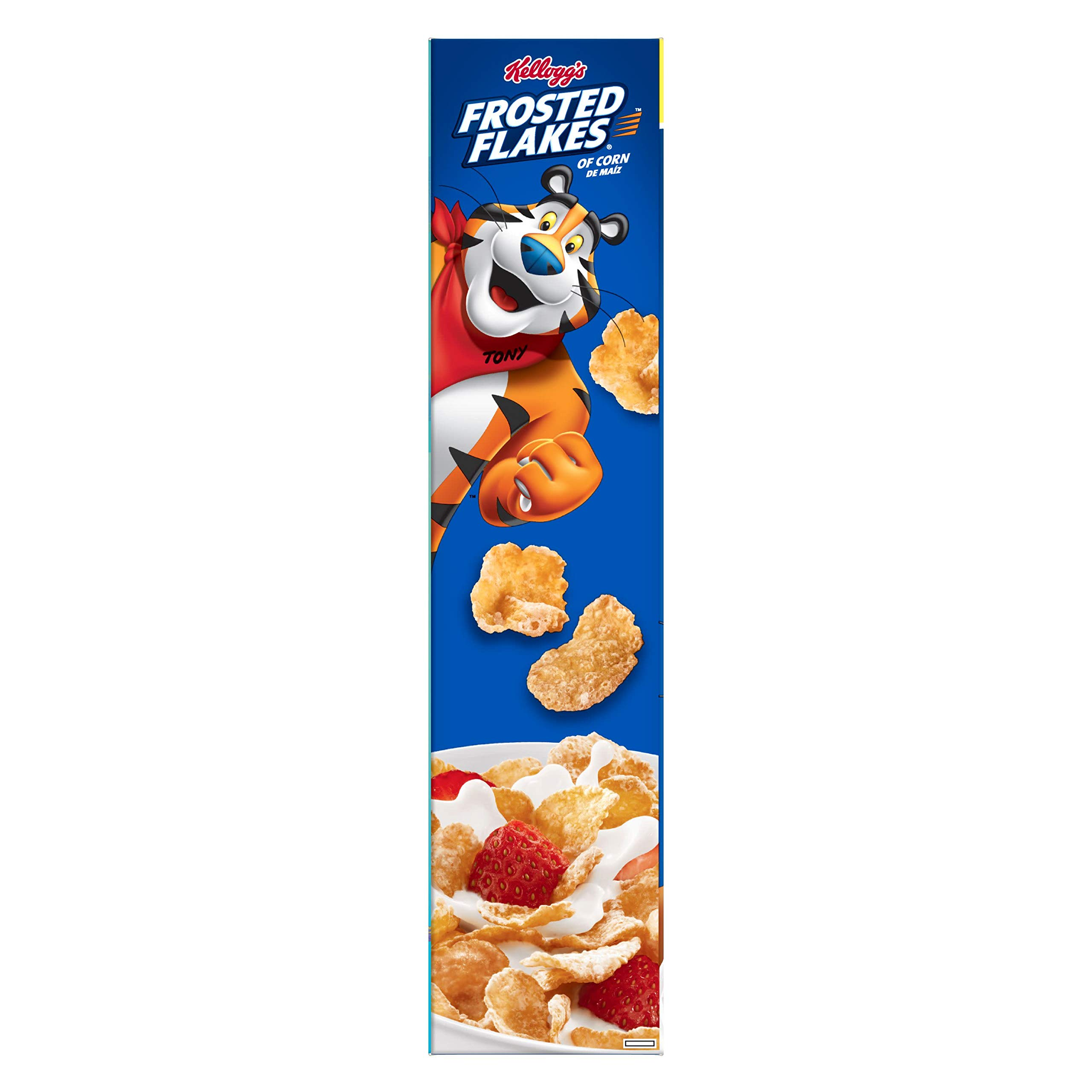 Kellogg's Frosted Flakes, Breakfast Cereal, Fat-Free, Family Size, 24 oz by Kellogg's (Image #9)