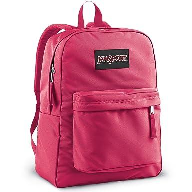 Amazon.com: JanSport Black Label Superbreak (Pink Tulip): Sports ...