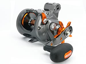 Okuma Cold Water Lightweight Graphite Frame Line Counter Trolling Reel