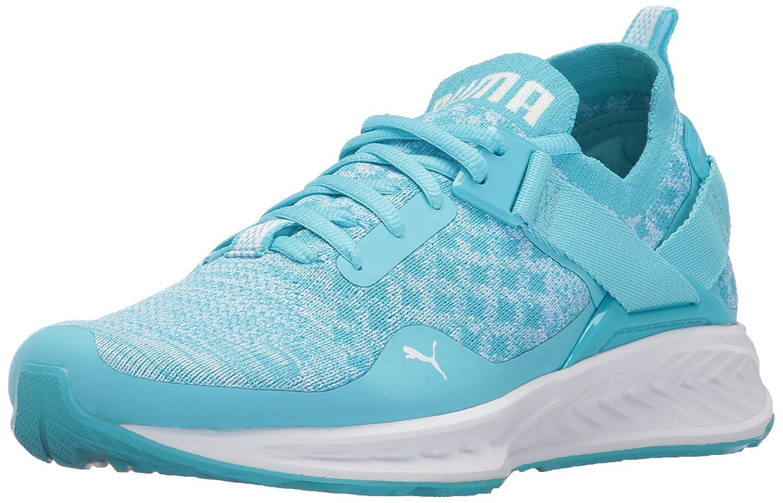 PUMA Women's Ignite Evoknit Lo Wn Sneaker B01MXZYOJ5 6.5 M US|Nrgy Turquoise-puma White