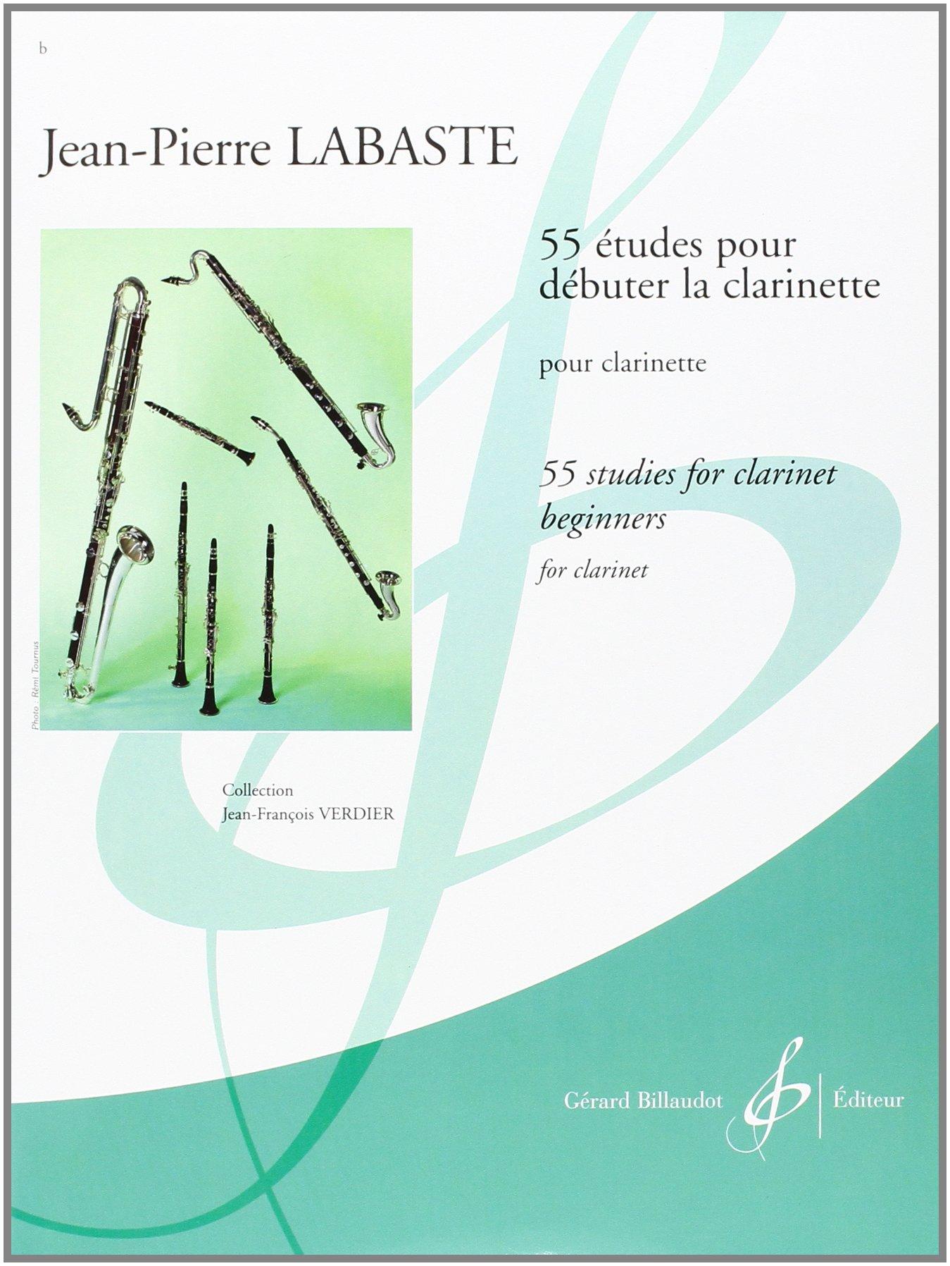 55 Etudes pour Debuter la Clarinette (Allemand) Broché – 1 février 2009 Labaste Jean-Pierre Billaudot B003JYOW6W Reference books